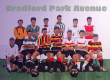 Bradford Park Avenue Team Classic Kits 20'' x 30'' Box Canvas